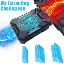 Mini Vacuum Air Extracting USB Cooling Pad Cooler Fan for Notebook Laptop PC