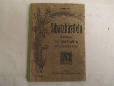 Sopran-SCHATZKÄSTLEIN Collection de 100 chansons, mitlacher, Leipzig de 1900