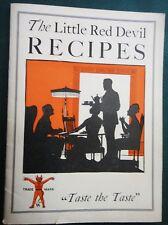 antique RED DEVIL UNDERWOOD HAM and TONGUE yukk RECIPE COOKBOOK vgc RARE