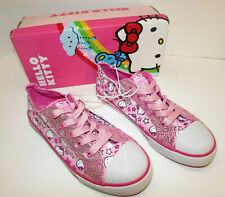 Pink Hello Kitty Shoes  Sparkly Sanrio Sneakers Tennis Shoes US Size 3