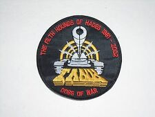 TANK NWOBHM HEAVY METAL EMBROIDERED PATCH