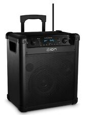 ION AUDIO BLOCK ROCKER ipa76c 50W TRAGBAR PA System mit UKW-Radio & Bluetooth