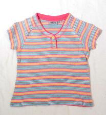 Gestreifte Größe 116 T-Shirts für Mädchen