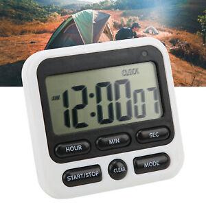 Kitchen Timer Large Clear Convenient Portable Reliable Digital Stopwatch Clock