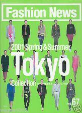 ***FN (Fashion News) FEBRUARY 2001- TOKYO 2001 SPRING & SUMMER COLLECTIONS