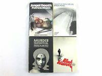 Patricia Moyes Hardcover/DJ Book Lot (4) BCE Rinehart Suspense Henry Tibbett