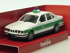 Herpa BMW 520i POLIZEI Bayern - 043816 - 1/87