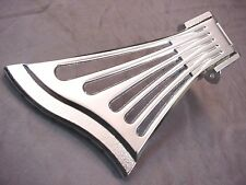 FAN STYLE TAILPIECE FOR ARCHTOP GUITAR - CHROME