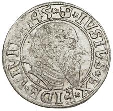 PRUSSIA. Albrecht von Brandenburg, Silver Grosch, 1545