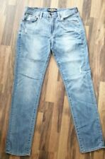 Lucky Brand size 31×32 , (10 Authentic Skinny) blue distressed denim jeans