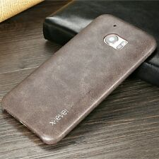 HTC 10 Phone Vintage Series Case Back Cover Premium PU Leather Protective Shell