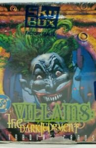DC Comics (1995, Skybox) Villains The Dark Judgment Base set