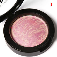 New Baked Blush Natural Glow Shimmer Blusher Face Contour Powder Makeup Palette