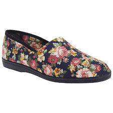 Sleeper Moccasins Textile Slippers for Women