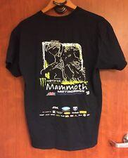 ☀MONSTER ENERGY☀Drink Mammoth Mens Black Motocross Bike 2013 T-SHIRT L RARE