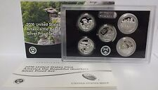 2016 National Park ATB Quarters Silver Proof Set - United States Mint