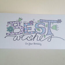 Personalised Birthday Card any message on front
