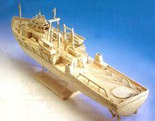 Plataforma petrolera buque de apoyo-Matchstick la construcción del modelo Nave artesanal Kit-Nuevo