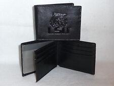 LSU TIGERS   Leather BiFold Wallet   NEW   black3+
