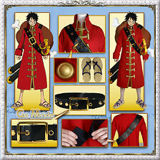 Japan Anime ONE PIECE FILM Z Luffy Cosplay Costume+Gift