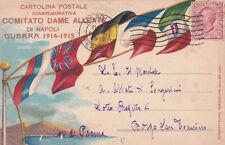 * MILITARE WWI - Comitato Dame Alleate Napoli 1915
