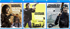 DEATH WISH 2, 3, 4 *NEW BLU-RAY PACK*