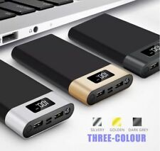 35000mAh Power Bank Charger Fast Charging 2 USB Type-C USB Battery Powerbank