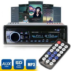 AUTORADIO MIT BLUETOOTH FREISPRECH EINRICHTUNG USB TF AUX MP3 1DIN OHNE-CD DE