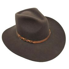 Stallion Stetson XX Premium Wool Cowboy Hat Dark Brown Size 55 Or 6-7/8