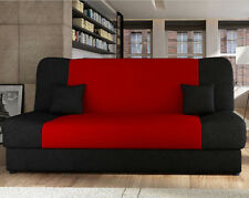 Schlafsofa Nella Style! Sofa Couch Schlaffunktion Bettsofa! MIT BETTKASTEN!