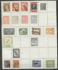 No: 66542 - LATIN AMERICA - LOT OF OLD STAMPS - ON AN ALBUM PAGE!!