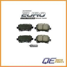 Rear Brake Pads Akebono Euro 1K0698451F For: Audi TT Quattro VW Jetta GTI Rabbit