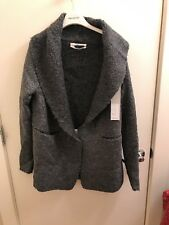 Rick Owens Wool Cardigan Sweater NWT Size 40 Grey