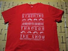 2XL- Staching Through The Snow Old Navy Brand T- Shirt