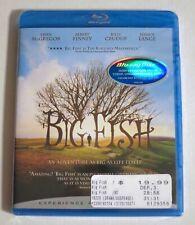 Big Fish 2009 Blu-ray New Tim Burton Ewan McGregor Albert Finney Helena Bonham C