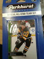 upper deck 2016-17 parkhurst hockey all star team set