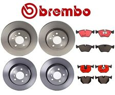 Front Rear Full Brembo Brake Kit Coated Disc Rotors Ceramic Pads For BMW E83 X3