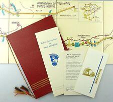 #e6668 Karte Erdgasleitung Orenburg-Ushgorod + Einladung & Programmübersicht