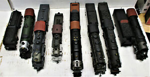 BOSWER BACHMANN AND THE OTHERS STEAM LOCOMOTIVES HO SCALE 7 LOT (NO BOXES)