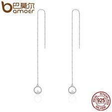 Bamoer Passionate Love S925 Sterling Silver hook Earrings Dangle Women Jewelry