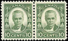 Canada Mint NH F+ Pair of 10c Scott #190 1931 Cartier Issue Stamps