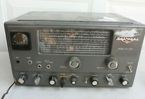 Vintage 1950's National Radio Receiver Seismograph Service Corp. Model NC125 -S1