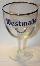 Westmalle Trappisten Bier/Beer  glass Belgium Westmalle Abbey Brewery