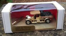 MATCHBOX MODELS OF YESTERDAY Y13 COAL & COKE - GOLD CHROME - ONYX PENSTAND