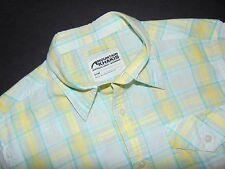 MOUNTAIN KHAKIS Button Front Shirt ~ Small ~ Plaid ~ 100% Cotton