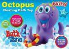 Nuby Bathtime Fun Octopus Hoopla, Purple  Bath Toy Preschool Baby Kid Child Pool