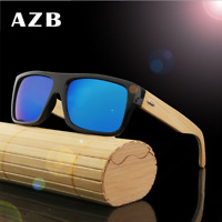 Handmade Retro Unisex Bamboo Wooden Sunglasses Fashion Party Glasses Hot