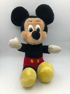 Vintage Walt Disneyland Disney World Mickey Mouse Plush Stuffed Toy Animal Doll
