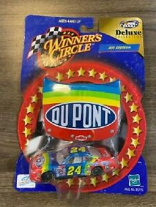 JEFF GORDON 2000 DUPONT #24 1/64 WINNERS CIRCLE DIECAST CAR + HOOD MAGNET