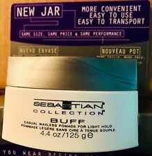 SEBASTIAN BUFF WAXLESS ANTI FRIZZ POMADE & SMOOTHER 4.4 OZ UPC, 769295096173